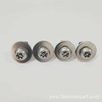 Mechanical Anti-Loosening Combination Screws