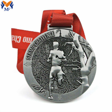 Best silver half marathon finisher medals