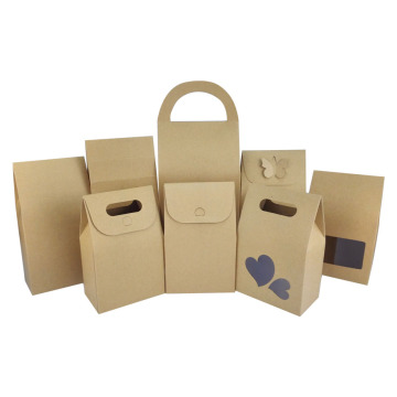 Promotional Stone Paper Bag with Clear Window