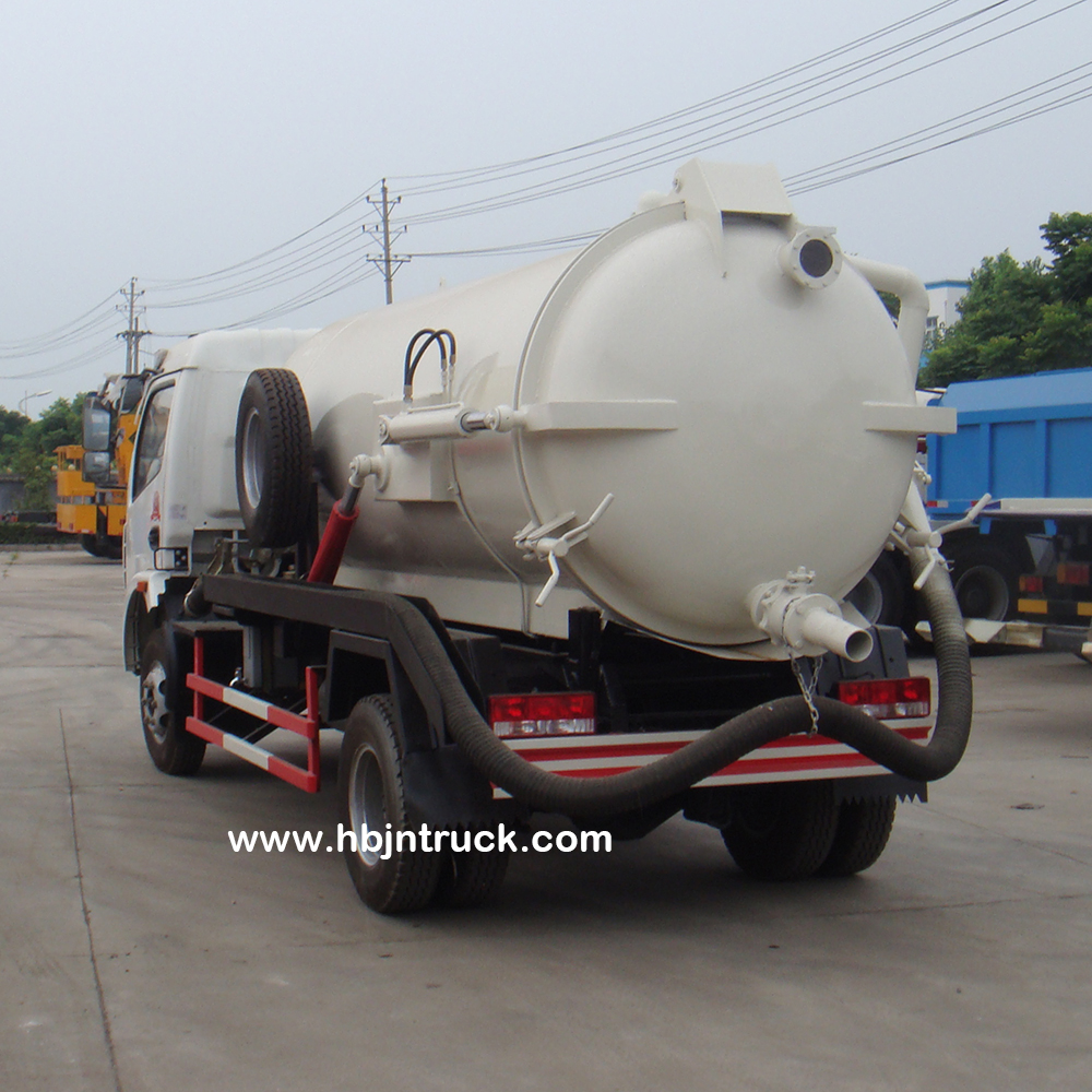 Dongfeng sewer vacuum truck