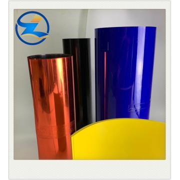 Colorful rigid PVC rolls