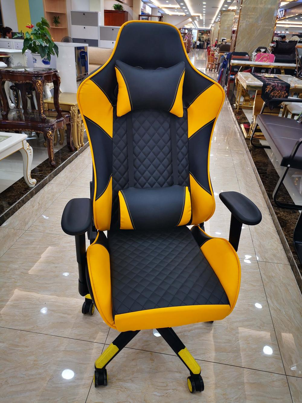 Chair  Gamer  Yellow