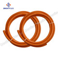 Natural gas heater extension hose