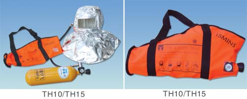 AIR COMPRESSED EMERGENCY ESCAPE      BREATHING DEVICE