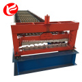Metal roller shutter door frame forming machine
