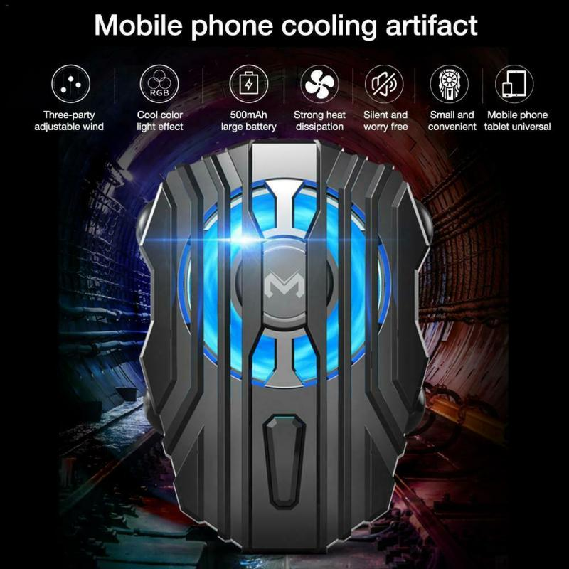 FL01 Mobile Phone Cooler Handle Semiconductor Cooling Fan Holder For iPhone 11 PRO Xs Samsung Mobile Radiator Gamepad Controller