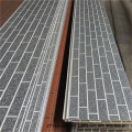 Exterior wall cladding panels