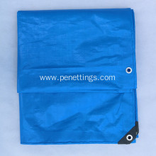 100%waterproof PE tarpaulin sheet with UV protection