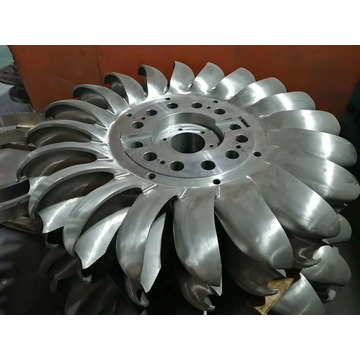 Impulse Type Turbine for Hydropower Plant