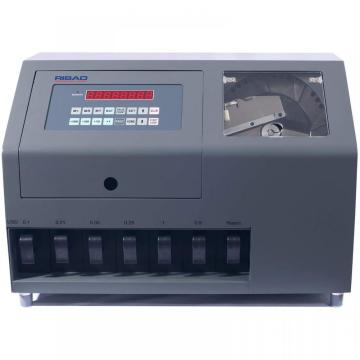 Coin counter and sorter for US dollar