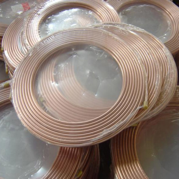Air Conditioner Copper Coil Pipe for HVAC Installation