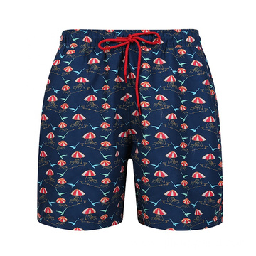 Oem Swimming Trunks Men Swimwear Shorts Mid Length