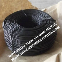 12 Guage Black Annealed Soft Rod Iron Wire
