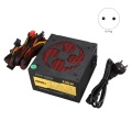 500W Quiet with Fan ATX 12V 4/8-Pin PC Power Supply Modular SLI Illuminated Fan for High-End Computer Configuration PC