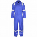 Antistatic and flame resistant safety work uniform