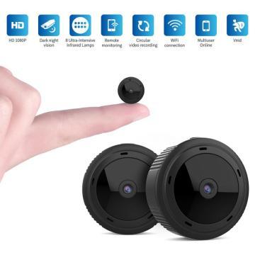 1080P 2MP Dome Mini IP Camera G43S Wireless Wifi Security Camera PTZ Cam IR Night Home Surveillance Camera Baby Monitor
