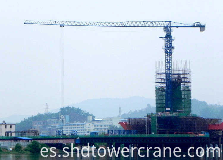 Tower Crane For Nuclear Power Plant