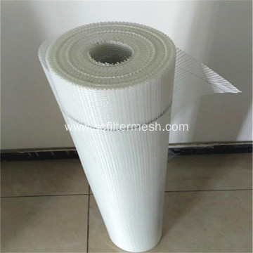 White Fiberglass Mesh 1x50m with 5x5mm