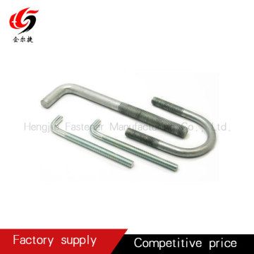 Carbon hot dip galvnised J type anchor bolt