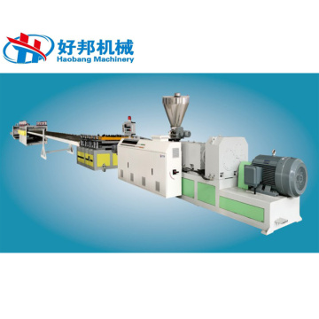 PVC foam board making machine foam sheet extruder