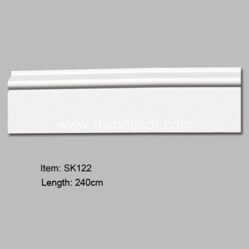 Ubos nga Presyo sa PU Decorative Skirting Boards