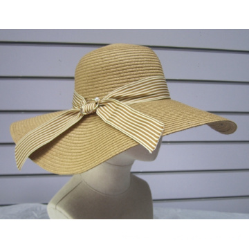 Popular Fine Paper Braid Floppy Sun Hat