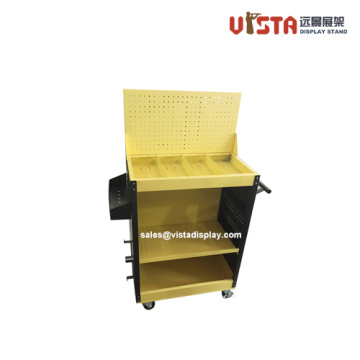 3 Tiered Custom Power Tool Metal Display Stand