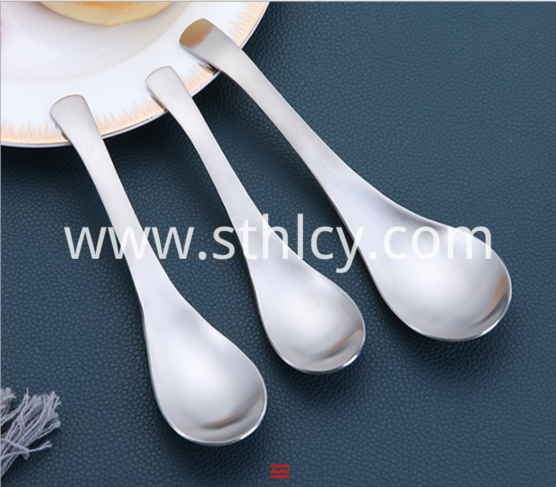 304 home restaurant hotel court spoon stainless steel spoon