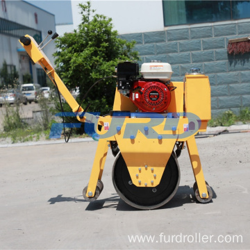 New condition small walk-behind baby road roller compactor price FYL-D600