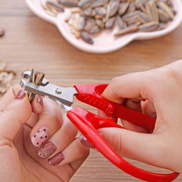New Nut Pliers Shell Opener Stainless Steel Nut Shell Cracker Seed Pistachio Sheller Opener Peeling Pliers Kitchen Tool 20JAN17