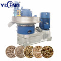 YULONG XGJ560 Rubber wood pellet granulator machine