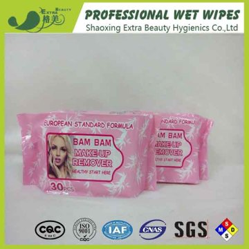 Makeup Remover Wipes Cosmetics Cleaning Wet Tissues