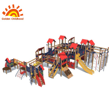 Large Multiply Functional Outdoor Playground Equipment