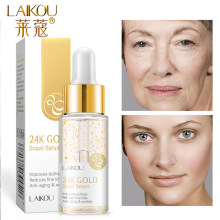 LAIKOU Snail Hyaluronic Acid Nourishing Anti-Aging Face Serum Whitening Moisturizing Brighten Tighten Face Skin Care 17ml