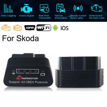 for Skoda Octavia Superb YETI Fabia Rapid Kodiaq WIFI ELM327 OBD2 Scanner Code Reader Diagnostic Tools for Android IOS Windows