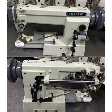 Single Needle Cylinder Bed Flatbed Lockstitch Sleeve Attaching Machine