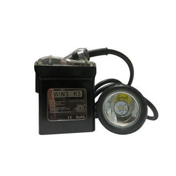 K5 Black miners cap lamp