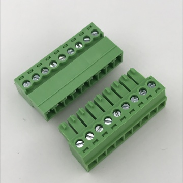 9pin 3.81mm pitch plug-in terminal block
