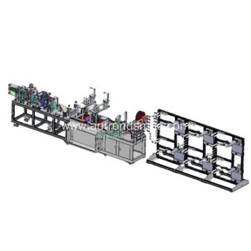 Fully Automatic FFP2 N95 Cup Mask Machinery