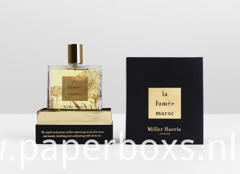 Two Pieces Perfume Paper Packaging Box