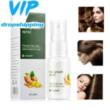 2020 new Ginger Hair Growth Spray Essential Oil Hair Loss Liquid Hair Growth Spray For Men Women Hair Care Eyebrow beard