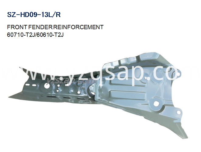 cr2 FRONT FENDER REINFORCEMENT INSIDE