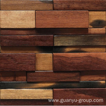 new arrival wood mosaic