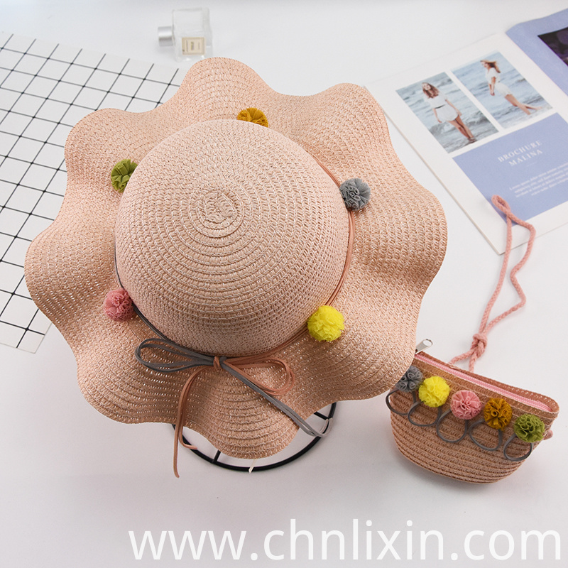 Children Summer Straw Hat