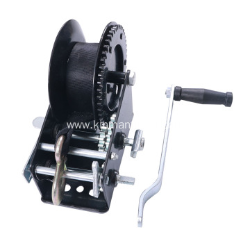 Heavy Duty Hand Winch With Strap