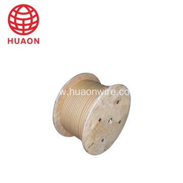 Aluminium paper covered electrical wire