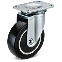 The PU Small Bottom Plate Movable Casters