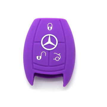 Mercedes Benz Silicone Smart Car couvercle de protection de clé