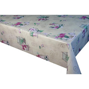 Elegant Tablecloth with Non woven backing Ikea