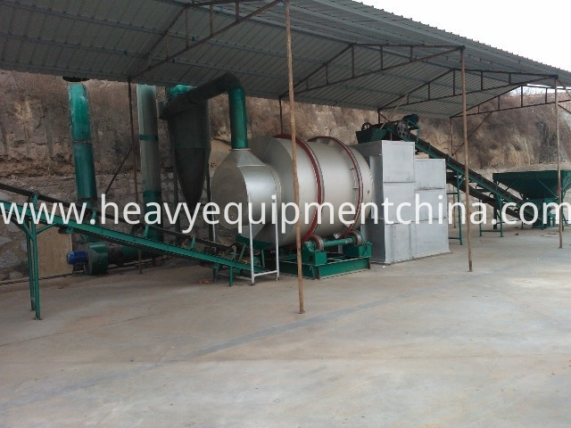 Triple Drum Rotary Dryer